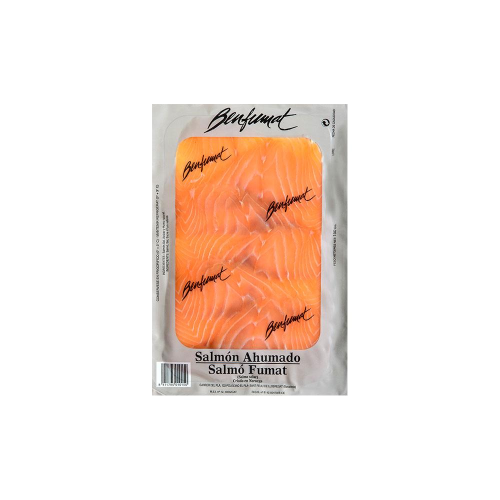 Smoked salmon 150 g package - Benfumat
