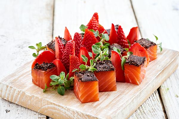 recetas de salmón ahumados saludables
